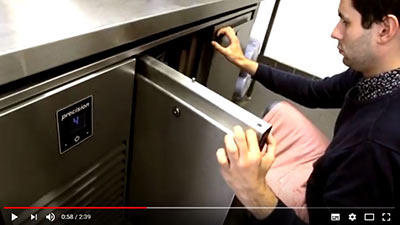 London Italian café Festa Sul Prato owner Martin Hoenle talks about Precision Refrigeration