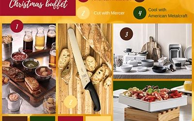 Boost your Buffet – Christmas buffet inspiration mood board from PFR