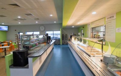 CED equips British Car Auction's restaurant at new Perry Barr site