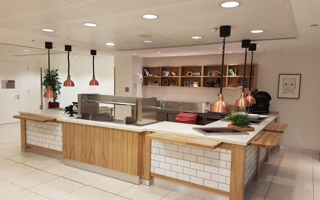 Baselite lights the way for London restaurant and coffee bar