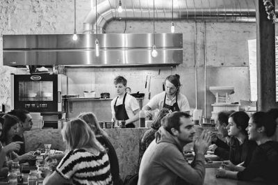 Brighton's zero waste restaurant, SILO, uses Unox green energy ovens.