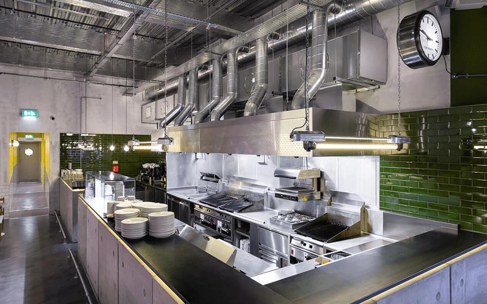 CED Fabrications kitchen