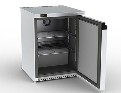 Precision's compact 'A' rated under counter fridge