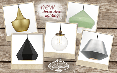 New decorative lighting collection launched in the UK