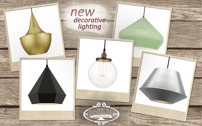 NEW DECORATIVE LIGHTING FROM BASELITE & BASELITE | Pro Foodservice Reps