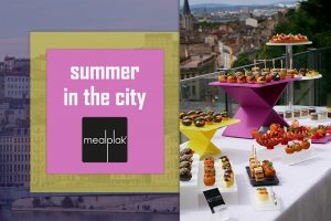 Mealplak summer tabletop buffet
