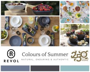 Revol summer table top