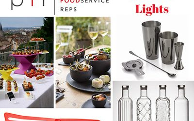 Summer Lights, a Team PFR curated collection of tabletop, buffet ware and bar supplies