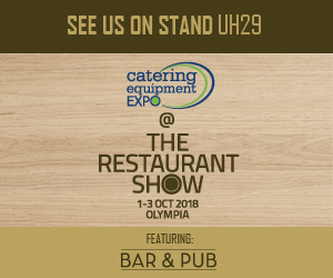 Come and meet Team PFR at the Catering Equipment Expo 2018